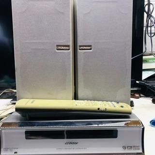 ビクター Victor DVD/CD/MD システムコンポ NX...