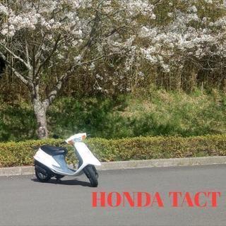 HONDA タクト af24 ☆バイクの季節到来!☆