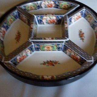 ☆オードブル皿 5枚セット 回転皿 回転台