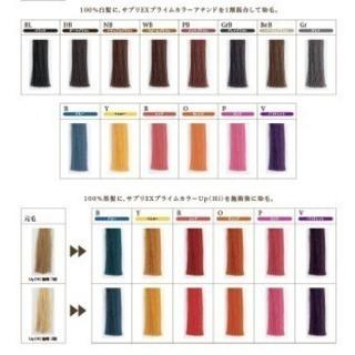 【頭皮と髪に優しいカラー】リタッチ4400円~