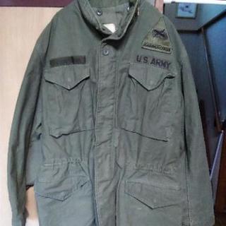 本物の米軍ジャケット
