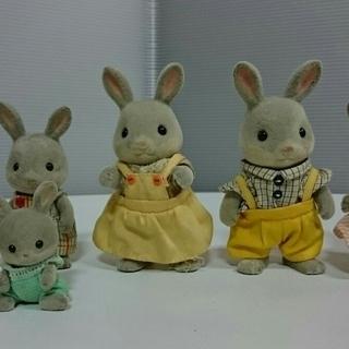 【中古】シルバニアファミリー きいちご林のお家 家具・人形付き - 売ります・あげます
