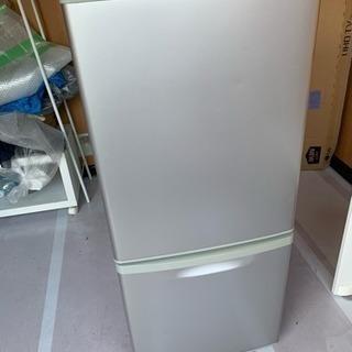 送料込み パナソニック 138L 冷蔵庫 NR-B144W-S