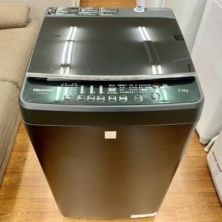 ハイセンスの簡易乾燥機能付洗濯機「HW-G55E5KK」