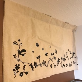【中古】ニトリ カフェカーテン