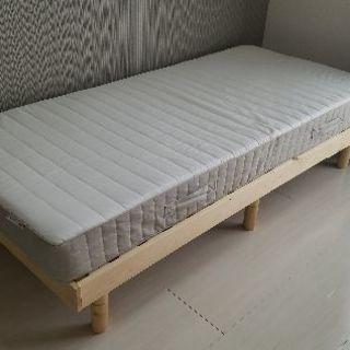 【IKEA】マットレスのみ スプリング入り【美品】