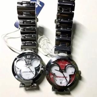 【美品】ディズニー ミッキーモチーフ 腕時計 2個