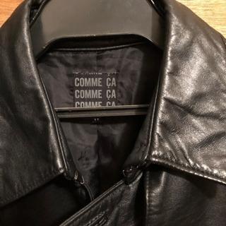 COMME CA  皮のコート 再値下げ中