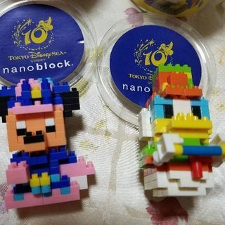 ディズニーシー 10周年ナノブロック 美品2種