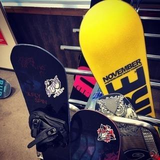 スノーボード&スノースケート、@かぐらスキー場