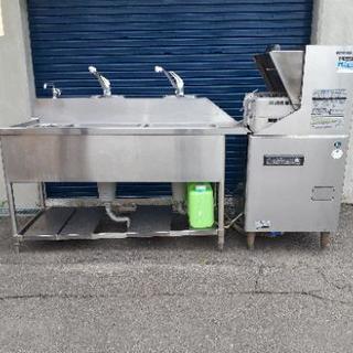 値下げ💴⤵️ホシザキ食洗機と特注食洗シンク