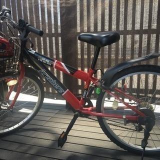 自転車&ヘルメット 子供用24インチ