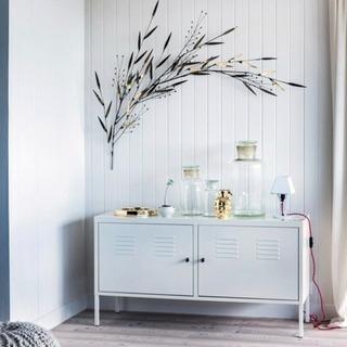 IKEA イケア PS キャビネット ホワイト 119x63cm