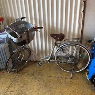 子供乗せ自転車 ママチャリ 26インチ ブリジストン