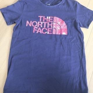 ノースフェイスtシャツ sネイビー