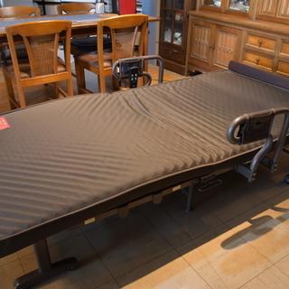 折りたたみ電動ベッド 2モーター ATEX AX-BE635N
