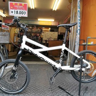 ☆整備済リサイクル自転車 20×1.5 8段変速 キャノンデール...