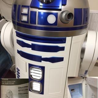 R2-D2™型移動式冷蔵庫 ASR-RD6E【アクア/AQUA】