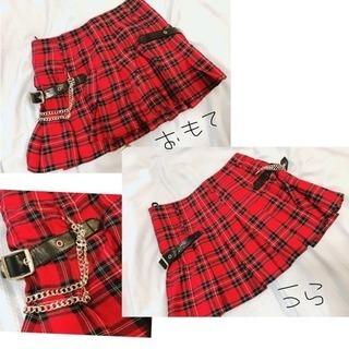 今日限りの値段チェク柄スカート ジャケット
