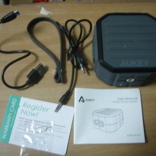 Anker BLUETOOTH 防水スピーカー 通話可能・有線接続可能