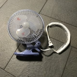 クリップ扇風機