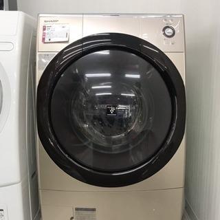 2013年製 SHARP ドラム式電気洗濯乾燥機 ES-Z110-NL