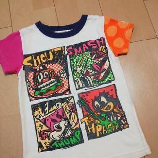 中古フリバンドTシャツ110キナリJAM