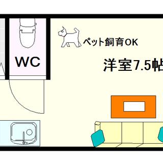 【コート桜川】5号タイプ!1Rタイプ!ペットOKやん☆