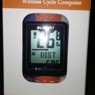 ワイヤレスサイクルコンピューター(自転車用スピードメーター・OD...