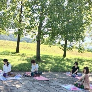 🌿新緑のパークヨガ @橿原運動公園🌳