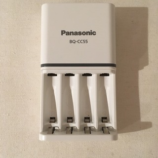 Panasonic 急速充電器 BQ-CC55