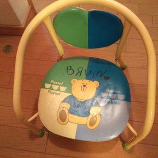 ベビーチェア パイプ椅子