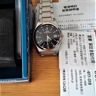 電波ソーラー腕時計《★美品》(シチズンQ&Q)売ります