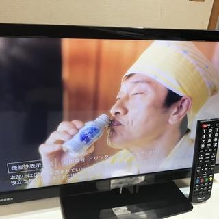 【★値下★】デジタルハイビジョン液晶テレビ 23型 TOSHIBA 管理No17 (送料無料) - 岸和田市
