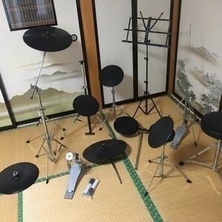 ♪トレーニングドラムセット♪