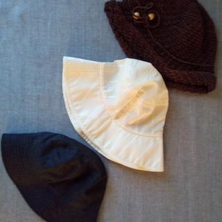 婦人帽子 残り2点(1つ¥10)