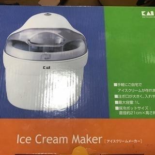 未使用 貝印 アイスクリームメーカー