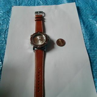 良品クラブフェイス腕時計大きい