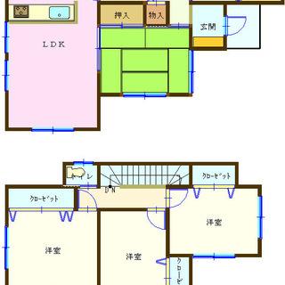 熊谷市船木台 4LDK一戸建て
