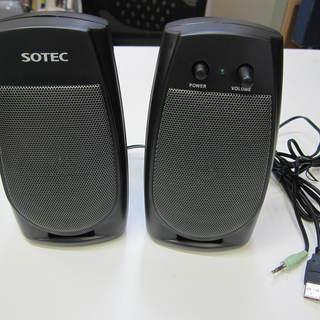 SOTEC スピーカー SP120A-01