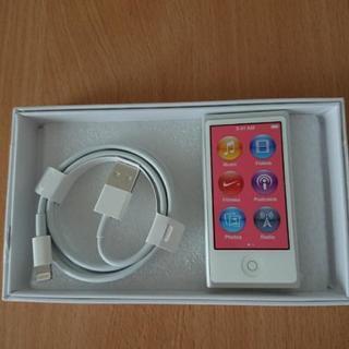 希少 新品未使用 ipod nano 第7世代 シルバー