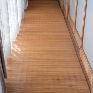 【和テイスト】廊下用 ロングカーペット (竹)
