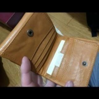 fes フェス 本革カウレザー二つ折り財布