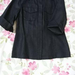 🌹・(148)春〜夏ジャケット・黒🌹(11)美品です。未着用品。...