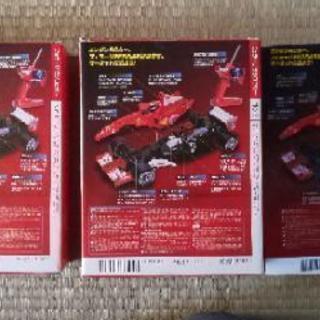 2004年フェラーリF1レーシングカーのプラモデル