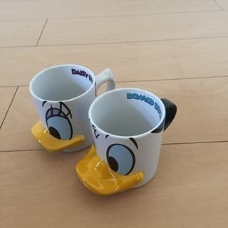 Donald Duckのマグカップです。