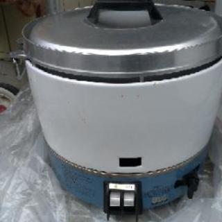 ガス炊飯器 3升炊き!