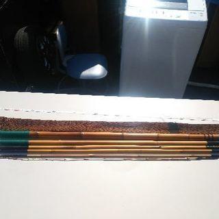 竹釣り竿8m修理有り❗珍しい❗古民家の飾りに👍