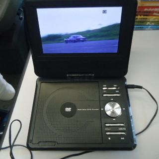 DVDプレーヤー 7型 EAST 乾電池&アダプター式 美品