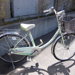 札幌 24インチ 自転車 ママチャリ シティサイクル 切替なし ...